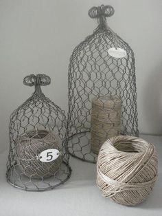 i need to make a great mass of these to protect my mothers flowers from her chickens! if i start now I might have enough by spring