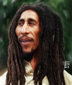 Caricatura de Bob Marley.  *~<3*Jo*<3~*