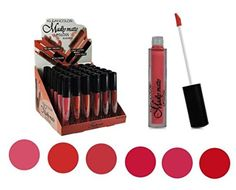 Day Dreams Beauty - 6 Matte Vivid Lipglosses (All 4 Sets). Vivid Colors. Non-Drying Matte Finish. No Feathering or Smudging. Fills in ridges and fine lines. Long wearing comfort.