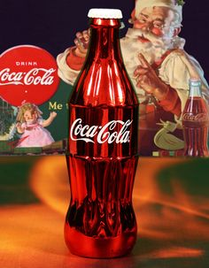 125 years Coca-Cola metal red bottle company only gift FEMSA Brazil | José Roitberg