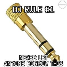 DJ's take note! How many of you have lost these along the way? Dj Quotes, Music Quotes, Typography Quotes, Home Studio Music, House Music, Bedroom Gaming Setup, Dj Meme, Dj Equipment, Dj Music