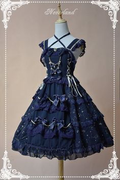 Neverland Lolita (SuffleSong) -Universal Nature- Lolita JSK with Front Open Design