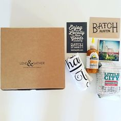 We loved helping @lootvintage put together these fun batch boxes for their @lendandgather attendees. How awesome is their logo?! #giftlocal #austin
