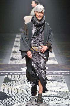 Những soái ca kimono chỉ có tại Tuần lễ thời trang Tokyo - Ảnh 8.