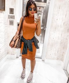 Chic outfit idea to copy ♥ For more inspiration join our group Amazing Things ♥ You might also like these related products: - Skirts ->. Classy Outfits, Chic Outfits, Beautiful Outfits, Summer Outfits, Girl Outfits, Fashion Outfits, Womens Fashion, Trendy Outfits, Dress With Converse