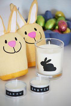Easter idea: Homemade soy candles. / Soijakynttilä pääsiäiseksi. Ohje blogissa.