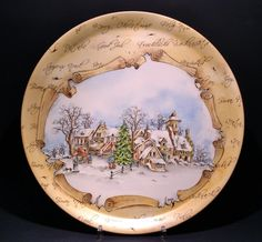 Le porcellane di Morena: Natale.... porcellane dipinte a mano - hand painted christmas dinnerware - dish ornaments
