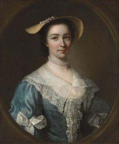 English portrait painter George Knapton (1698-1778) (55 works)
