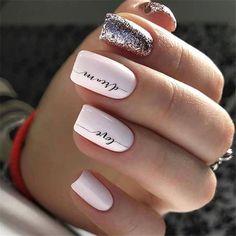 Cute and Beautiful Glitter Nail Designs Ideas For Summer Part glitter nail art; glitter nails acrylic Nails Cute and Beautiful Glitter Nail Designs Ideas For Summer Part 14 Cute Nail Colors, Cute Nails, Pretty Nails, My Nails, La Colors Nail Polish, S And S Nails, Manicure Colors, Color Nails, Shellac Nails