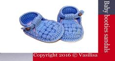 Baby Knitting Patterns Booties Watch this free video tutorial to learn how to make it baby booties sandals gift… Diy Crochet Sandals, Crochet Sole, Crochet Baby Booties, Knitting Patterns Boys, Crochet Patterns, Baby Kimono, Baby Shoes, Diy Baby, Etsy