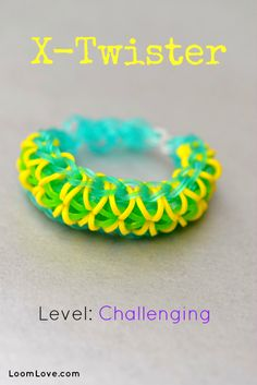 How to Make the X-Twister #rainbowloom