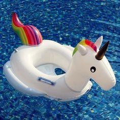 Baby Pool Float Unicorn Inflatable Rafts Swim Ring Swimming Pool Toys for Kids Bonus Carry Bag Pool Floats For Kids, Pool Toys For Kids, Cool Pool Floats, Kids Toys, Unicorn Inflatable, Swimming Pool Toys, Baby Unicorn, Cool Toys, New Baby Products
