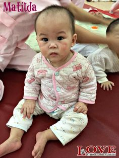 Meet Matilda, new to our foster care program! She is nine months old and beginning to bond with her new foster family. She is in need of sponsors to support her in foster care. #Matilda #loveinaction