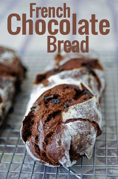 French Chocolate Bread! Made with a sourdough starter. Detailed step-by-step recipe suitable for baking rookies!