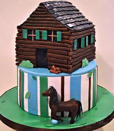 Cake Fixation: Log Cabin Cake
