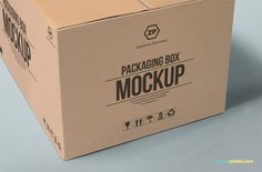 Design Mockup Photoshop Tutorial - Have you ever wanted to create a mockup of how your graphic design will look in the package. Print Packaging, Box Packaging, Packaging Design, Beer Subscription, Carton Design, Mockup Photoshop, Carton Box, Box Mockup, Shipping Boxes