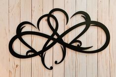 Double Infinity Heart Wood Sign/Infinity Symbol/Wall Art Love Infinity Sign with Heart Intertwined/Infinity Family Sign Infinity/Engagement/ Symbol Tattoos, Mom Tattoos, Body Art Tattoos, Celtic Tattoos, Tattoo Symbols, Star Tattoos, Infinity Tattoo Designs, Heart Tattoo Designs, Infinity Symbol Art