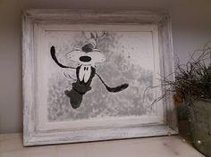 Maalasin vanhan maisemataulun päälle...kehyksetkin siinä samalla saivat maalia pintaansa. Handicraft, Snoopy, Fictional Characters, Art, Gate Valve, Craft, Art Background, Arts And Crafts, Kunst