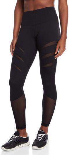 e9ea5e461dcfe 16 Best mesh panel leggings images | Athletic outfits, Workout ...