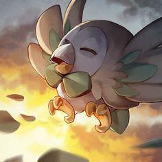 Rowlet, Pokemon Sun/Moon starter