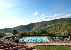 Panorama Ferienwohnung in Umbrien mit Pool für 2 Personen