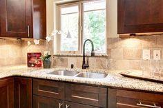 Walnut Shaker Kitchen Vanity- View 2
