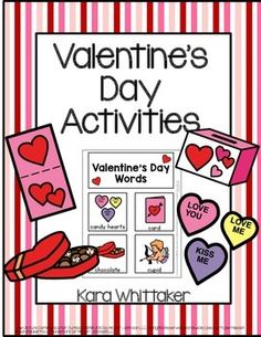 Valentine's Day Activities & Vocabulary Unit for Autism or Special Education Classrooms