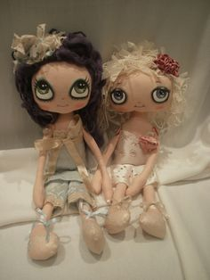 Gaynor & Gretchen by Lesley Jane Dolls