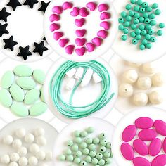 Diy silicone #teething loose #beads with baby safe #jewelry, fda proof, bpa-free,  View more on the LINK: http://www.zeppy.io/product/gb/2/161773201755/