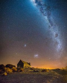 Milkyway at Lake Tekapo - New Zealand  Picture by @brentpurcell_le.nz Good night all  by wonderful_places