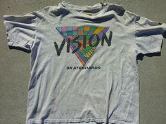 Vision Street Wear - Vision Skateboards T-Shirt - 1986