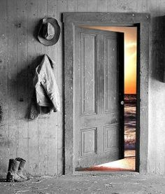 Sometimes the door to opportunity is left open; but we don't always see it.
