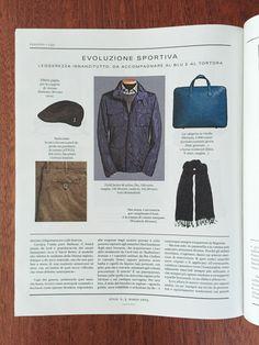 Su #Style Magazine del Corriere della Sera di marzo i pantaloni ATPCO per un #look #casual con stile.  #ATPCO #pants covered on Style #Magazine for a #stylish casual look.  #fashion #press