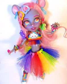 Custom Monster High Dolls, Custom Dolls, Barbie Fashionista, Anime Dolls, Cute Plush, Doll Repaint, Beautiful Dolls, Art Dolls, Fan Art