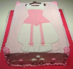 Bridal shower Pantaloons cake By SweetToothFairy on CakeCentral.com