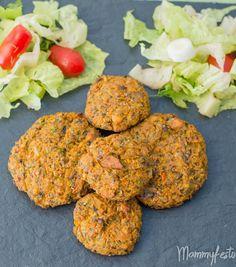 ΜΠΙΦΤΕΚΙΑ ΛΑΧΑΝΙΚΩΝ   VEGGIE BURGERS - Mammyfesto Veggie Burgers, Tandoori Chicken, Veggies, Ethnic Recipes, Food, Vegetarian Burger Patties, Vegetable Recipes, Vegetables, Essen