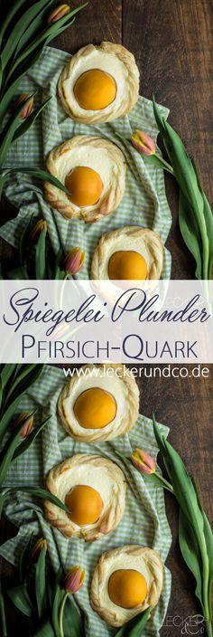 Ostern   Pfirsich Quark Plunder