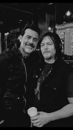 Jeffrey Dean Morgan and Norman Reedus in Griffin, GA May 2016.