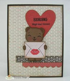 Luv Scrapping Together: Sending Hugs... ~ Peachy Keen Stamps February Sneak Peek