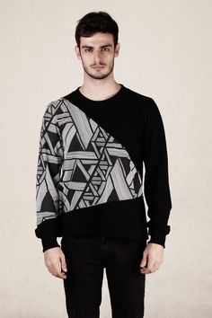 Monstore Labyrinth Men Sweater