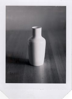 Original Polaroid vintage print Hella Jongerius Vase