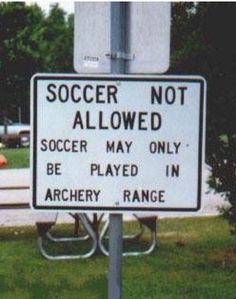 wonder where the archers are allowed to play?