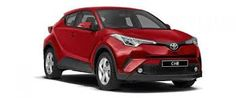 Image result for toyota  l chr red