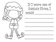 The Elf is Back!  In this packet, you will find the following:  letters to and from the North Pole, center activities, fun ideas, a journal, a reader, and much more!  $