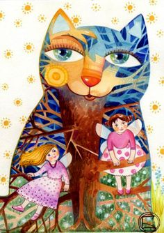 """Fairy Cat"" par Oxana Zaika"