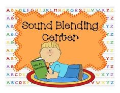 So helpful for teaching students how to blend sounds together and checks for comprehension! $3.50 #reading #sounds #literacy #RTI