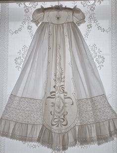heirloom baptismal gown