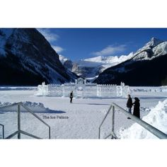 Ice Palace lake Louise
