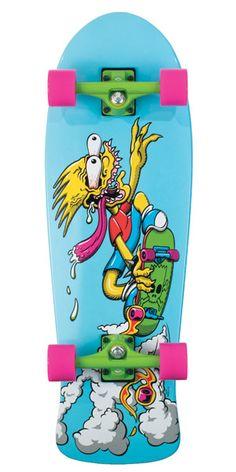 the Simpsons, Santa Cruz Skateboards.