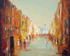 Marek Langowski ~ The dance of light in Venice